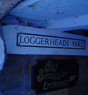 This image has an empty alt attribute; its file name is loggerheads-yard.jpg